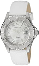 Invicta Women's 18406SYB Angel Analog Display Swiss Quartz White Watch