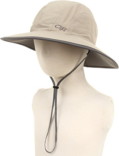 - Outdoor Research Kids' Rambler Sun Sombrero, Khaki/Dark Grey, Large