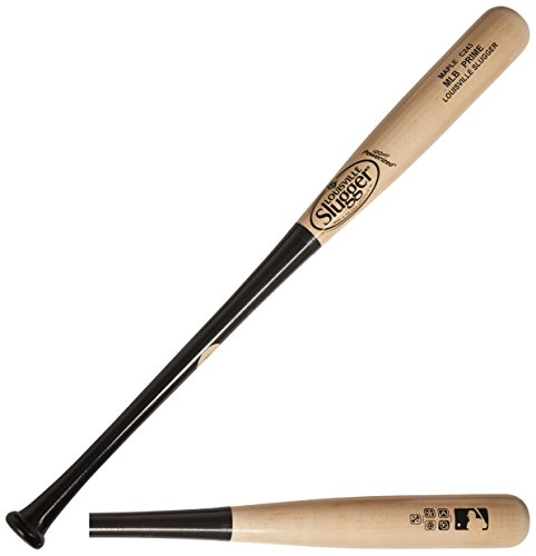 Louisville Slugger WBVM243-NB MLB Prime Maple C243 HG Natural/Black Baseball Bat, 32-Inch/31-Ounce
