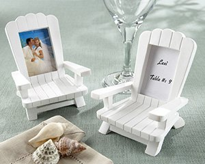 Beach Memories Miniature Adirondack Chair Place Card/Photo Frame , Qty.1 Each