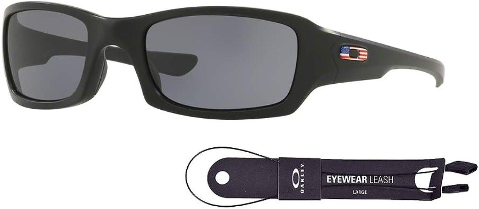 93e2ab1624 Oakley Fives Squared Matte Black Polarized