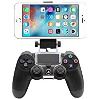 For iPhone 6S Plus, 6 PLus, 6S, 6, 5S, 5 - Game Controller Mount Clip Holder for PlayStation 4 PS4