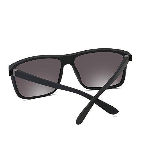 Silver hombre sol Bolara Lens Frame Black de With Gafas para wawEqI8T
