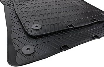 Original Audi Gummimatten Original Qualität Fußmatten Gummi Schwarz 2 Teilig Auto