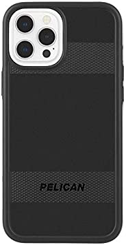 Pelican - Protector Series - Case for iPhone 12 and iPhone 12 Pro (5G) - 15 ft Drop Protection - 6.1 Inch - Bl