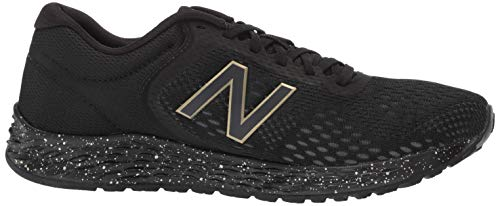 Donna Gold Running Balance black Foam Nero Scarpe Arishi Lb2 metallic black New Fresh SPqwYZp