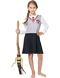 Intimo Girls Big Girls Harry Potter L/S Hermoine Gryffindor Uniform Night Gown