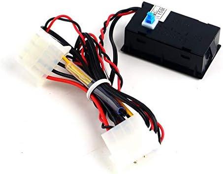 JICHUI Digital-Thermometer LCD-Meter-Messgerät-Detektor PC Car Mod C/F Molex Plattenmontage mit Blauer Hintergrundbeleuchtung Anzeige