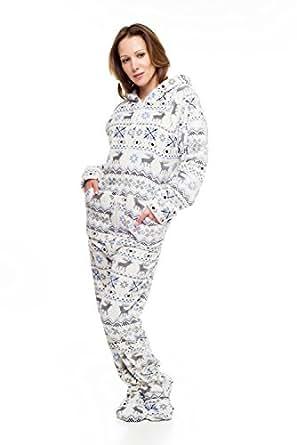 amazoncom christmas kajamaz adult onesie pajamas clothing