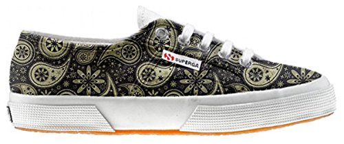 Superga Customized Chaussures Coutume Indian Paisley (produit artisanal)