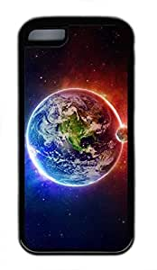 iPhone 5c case, Cute Earth 2 iPhone 5c Cover, iPhone 5c Cases, Soft Black iPhone 5c Covers