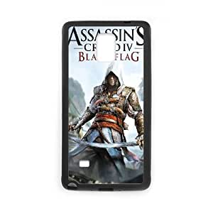 Samsung Galaxy Note 4 Cell Phone Case Black Assassins Creed Black Flag LSO7823320