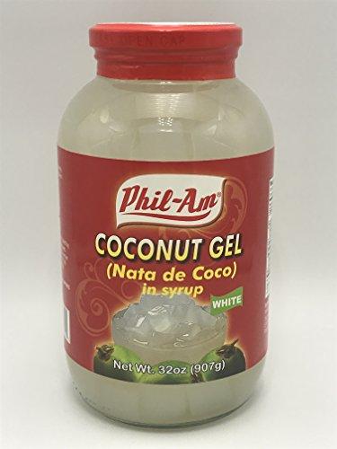 Coconut Gel White (Nata De Coco White) (2 pack)