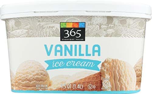 365 Everyday Value, Vanilla Ice Cream, 48 oz