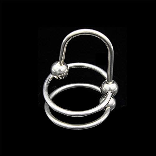 FELICIOO Edelstahl Horse Eye Stick REGT den Urinkatheter-Sound von Metall-Harnröhrenkathetern an
