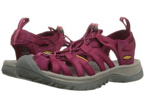Keen(キーン) レディース 女性用 シューズ 靴 サンダル Whisper - Beet Red/Honeysuckle 5 B - Medium [並行輸入品]