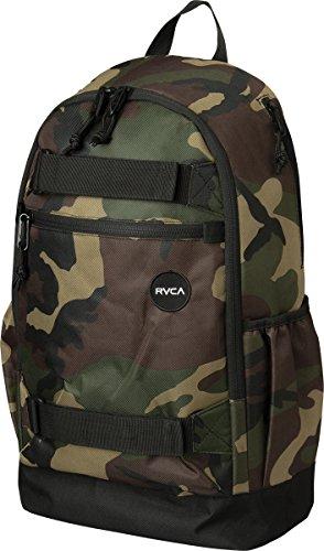 RVCA Men's Push Skate Backpack II, Black, One Size