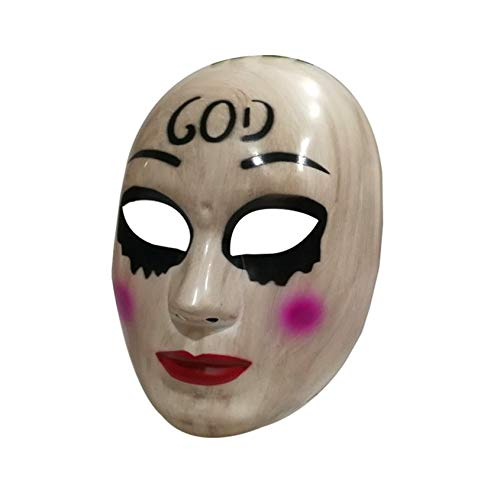 Florenceenid Halloween Mask Couple Party Masks Funny Masks Cosplay Costume Supplies