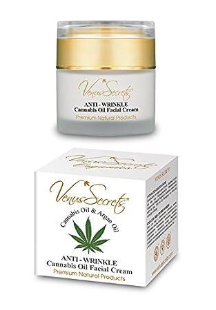 Ácido Hialurónico – Crema antiarrugas con aceite de Cannabis – 50 ml – Hidrata, restaura