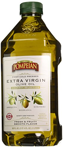 First Pressed Olive Oil (Pompeian Gourmet Selection Extra Virgin Olive Oil, First Cold Pressed (68 fl)