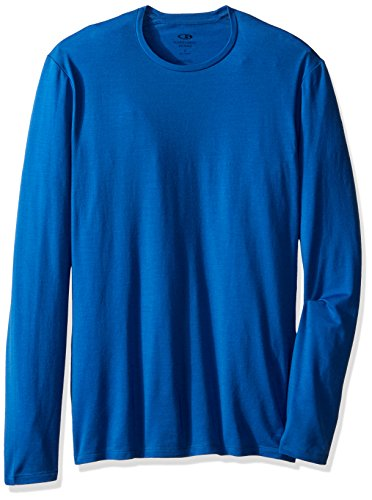 Icebreaker Men's Anatomica Long Sleeve Crewe T-Shirt
