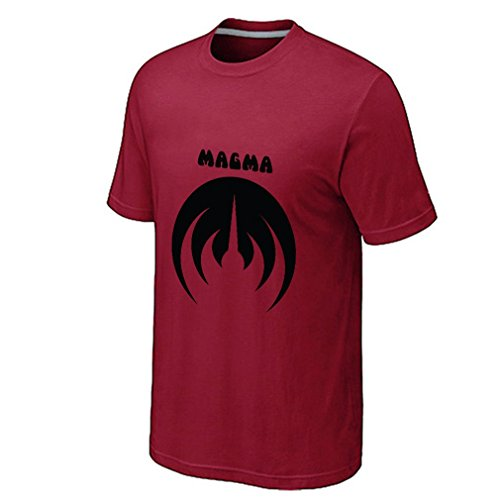 Whirligigo Men's Magma Band Logo T-shirt (Red XX-Large) (Kasey Kahne Red T-shirt)