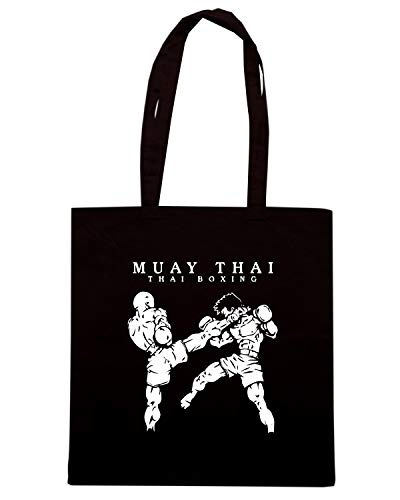 Borsa TAM0210 Nera BOXING Shopper Shirt MUAY Speed THAI OqpSwgx