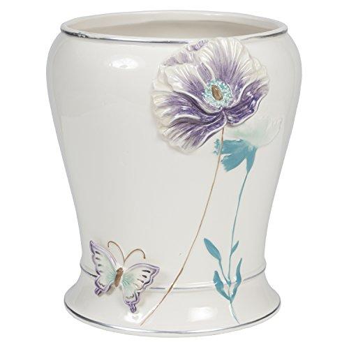 Creative Bath Products GGT54LIL Garden Gate Waste Basket