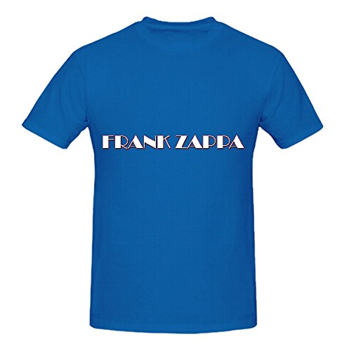 zappa-frank-logo-hits-mens-crew-neck-customized-tee-shirts-blue