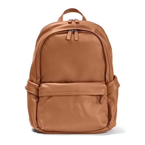 Parker Backpack - Full Grain Leather - Cognac (brown) by Leatherology