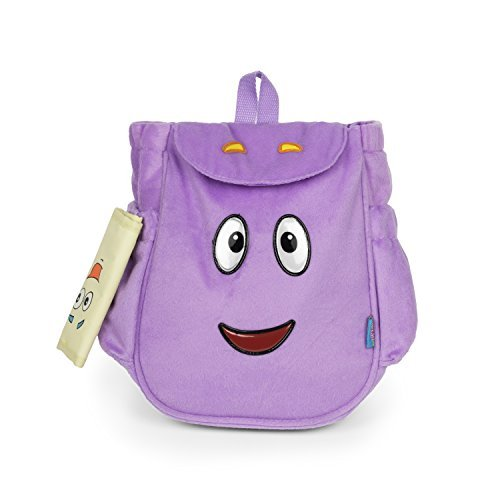 Dora the Explorer Dora Mr.Backpack Purple Plush Backpack with Map New Style]()
