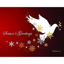 Divinity Boutique 24873 - Tarjetas de Navidad en caja, diseño de paloma de la temporada