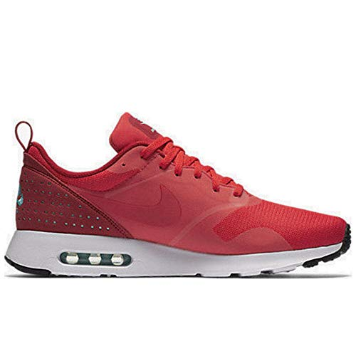 NIKE Men's Air Max Tavas, Action RED/Action RED-Gym RED-White, 12.5 M US (Nike Air Max Classic Bw)