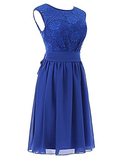 Beauty V White Gown AK Dress Back Short Party Top Women's Bridesmaid Prom Lace Hxxdqf