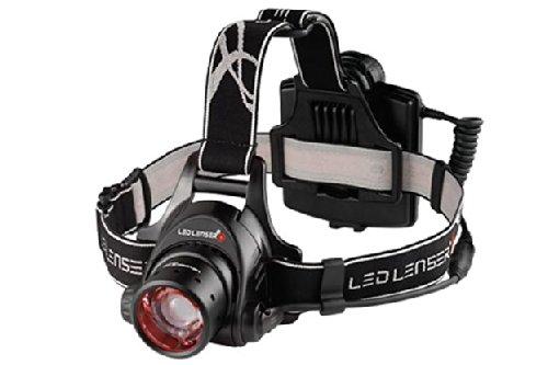 Leatherman LED Lenser H14R2 850 Lumens LED Headlamp Rechargable Flashlight Black w/PS & USB Charger
