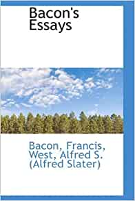 Francis bacon essays amazon