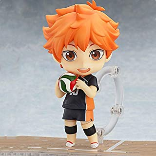 Xtxzq Vinyl Figure Collectible Anime Figure Haikyu Hinata Shoyo Kageyama Tobio Oikawa Tooru Kozume Kenma Action Sport Kids Toys Doll-A Height Approx10CM. Best Gift for Kids Adults and Anime Fans