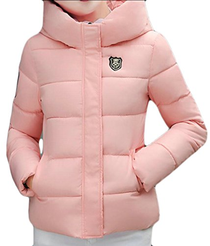 Overcoat M Pink Jacket Women's amp;S Down Outwear Short Coat Parka amp;W q4vXxwnr4