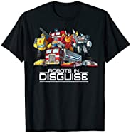 Transformers Group Shots Robots In Disguise T-Shirt