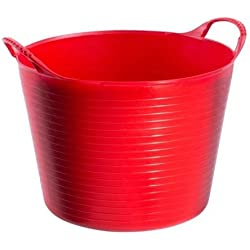Tubtrugs SP14R 14 Liters Red Plastic Tubtrugs Flexibles Small