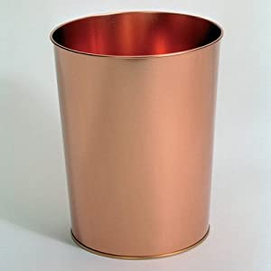 Copper Kitchen Waste Bins