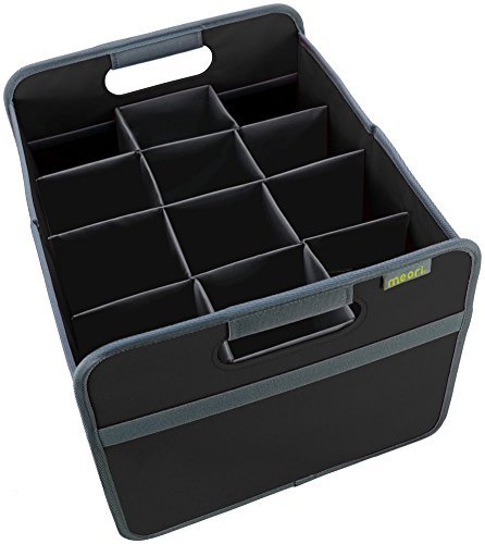 meori 12 Bottle Wine Carrier Lava Black/Case of Wine Vacation Glasses Picnic Dinner Party Box ()