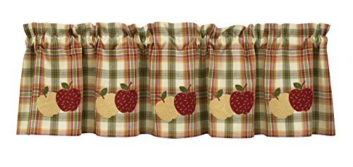 Park Designs Apple Lined Valance, 60 x 14 For Sale