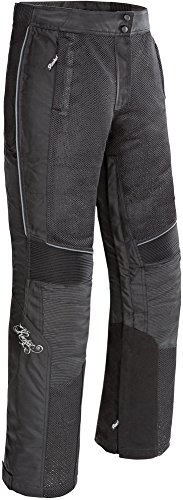 Joe Rocket Cleo Elite - Womens' Textile/Mesh Motorcycle Pant - Black - Medium