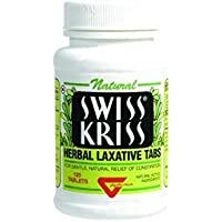Swiss Kriss Herbal Laxative Tablets 120 ea