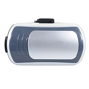 """QUMOX Caja de vidrios VR 3D Box para todos los teléfonos inteligentes """"4,7-6"""", Plata"""