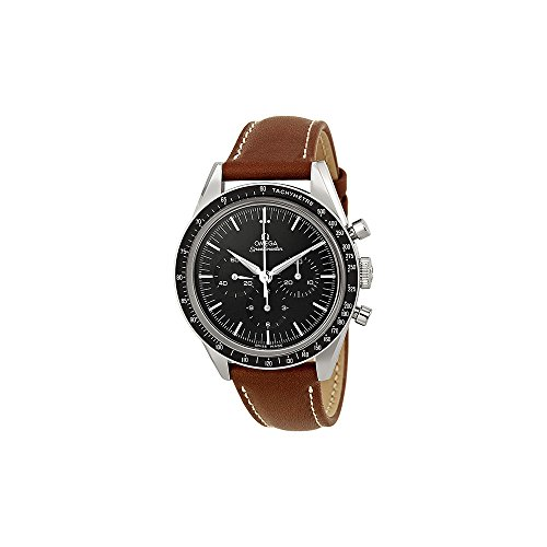 omega watch black dial - 1