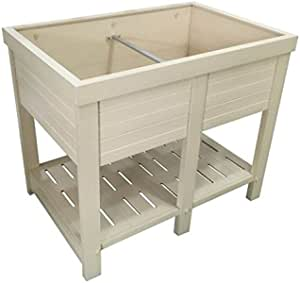 36 in. Wide Elevated Planter