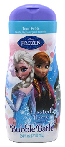 Disney Frozen Bubble Bath 24 Ounce (709ml) (2 (Disney Bubble Bath)
