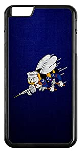 ExpressItBest Case for iPhone 6 - US Naval Construction Force (CBs, SeaBees), logo by ExpressItBest.com